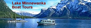 minnewanka lake cruise
