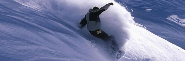 snowboarding in Banff Canada